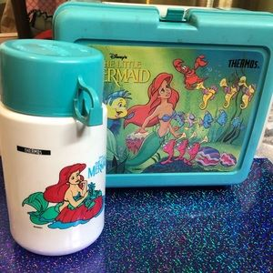 The little mermaid Vintage/Thermos